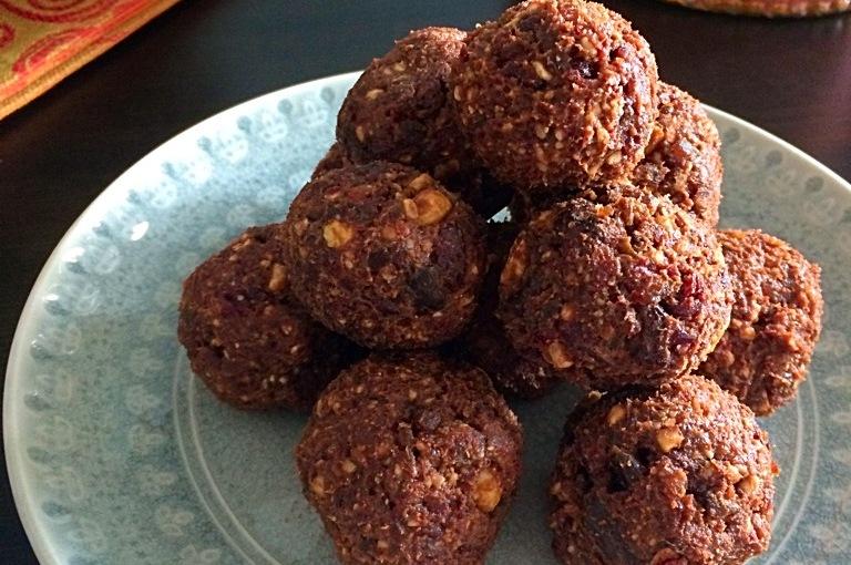 Chocolate Cherry ProteinBites